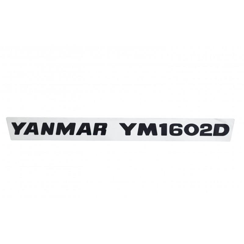 Sticker (1) Yanmar YM1602D