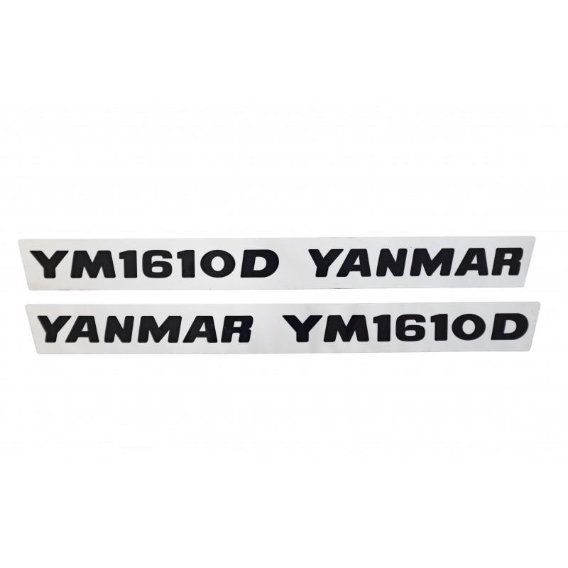 Aufkleber (2 Stück) Yanmar YM1610D