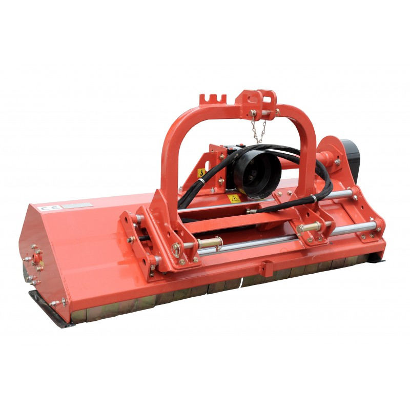 Hydraulic displacement for the EFGC flail mower