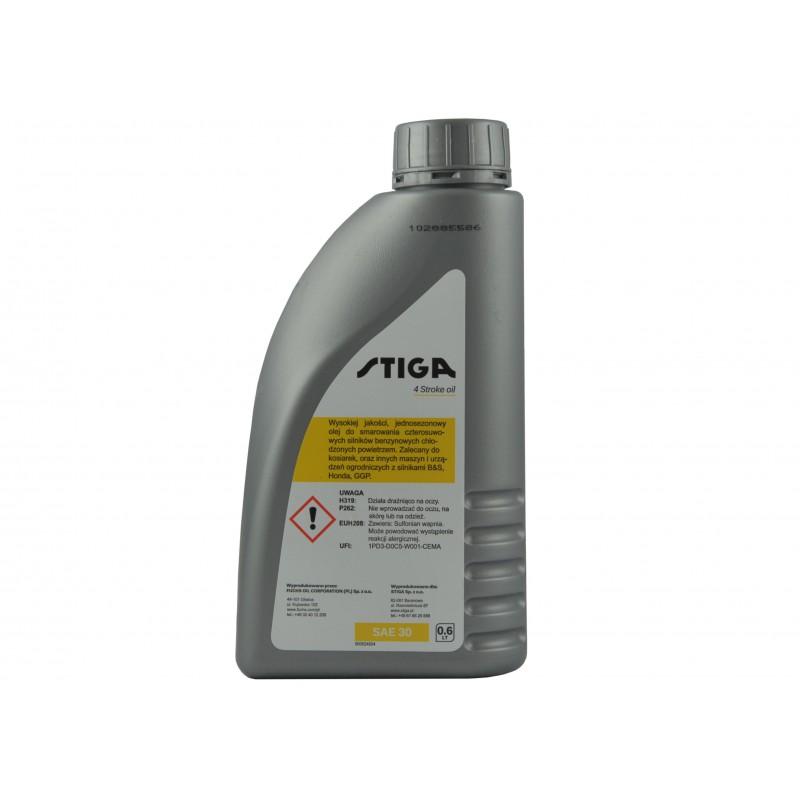 Oil for mowers Stiga SAE30, 0.6l