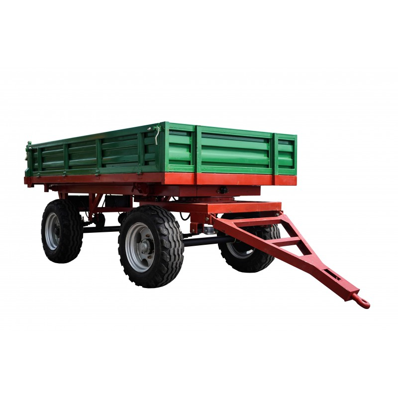2 axle agricultural trailer, 3T, 7CX-3S, 3100 x 1600 x 400 mm