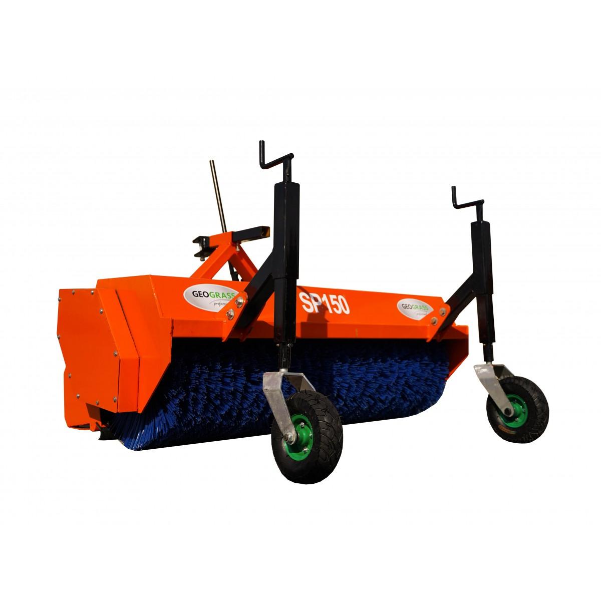 Street sweeper - municipal for tractor SP150 with basket TUZ KAT I, KAT II
