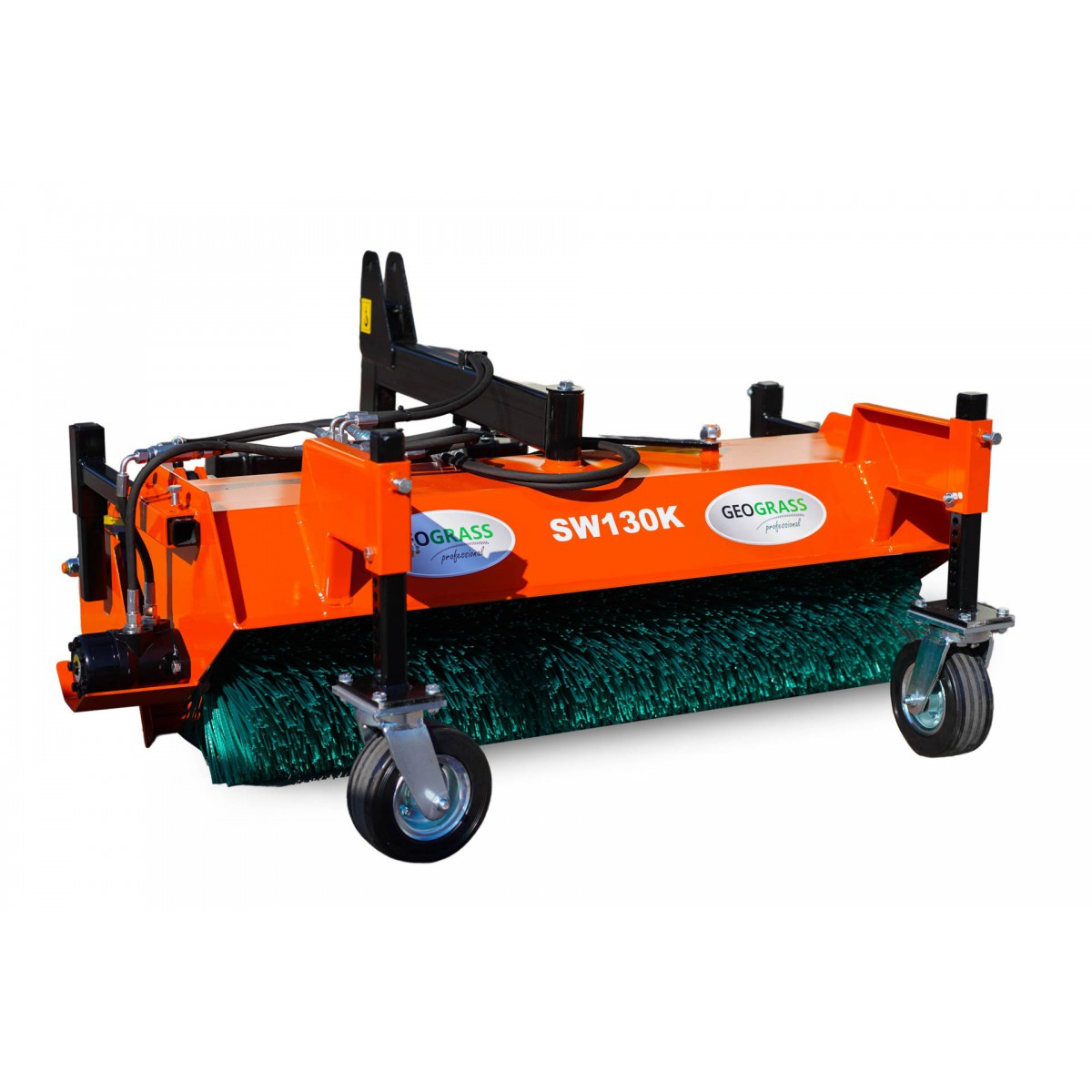 Street sweeper - communal for the tractor SW130 with basket