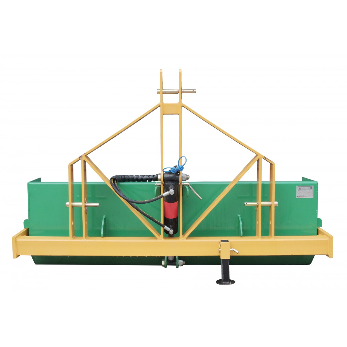 120 cm transport box with a hydraulic tipper, capacity 300 kg