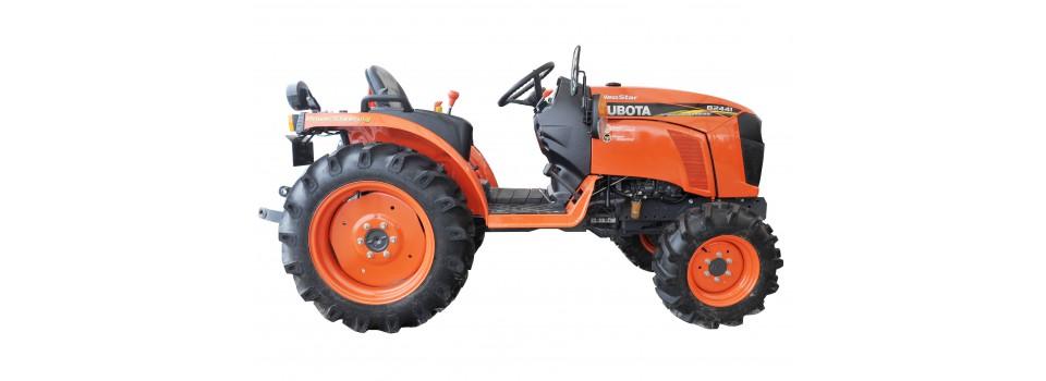 New Japanese mini tractors - Kubota.