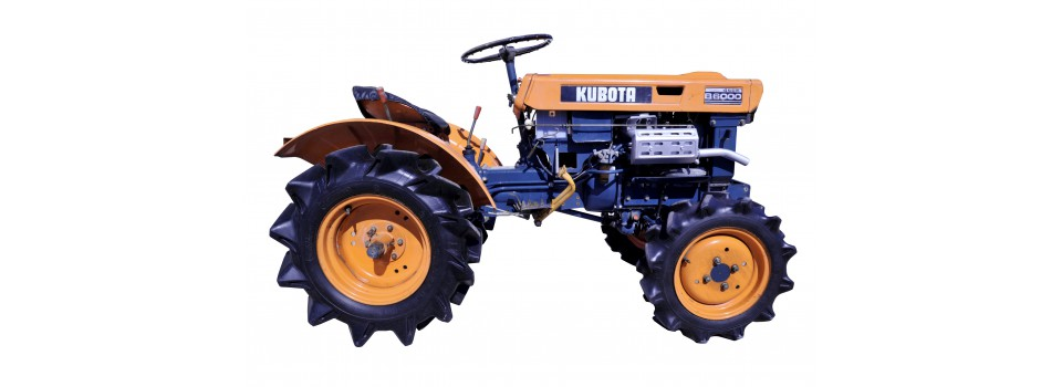 Used Japanese mini tractors - Kubota.