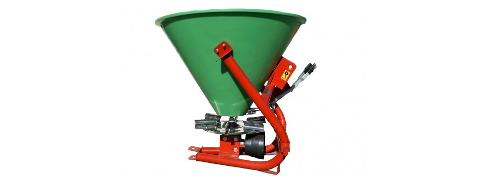 Fertilizer and loose material spreaders