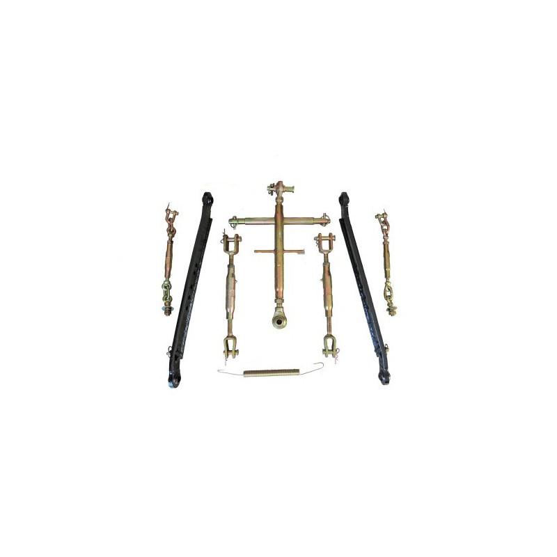 Three-point suspension system